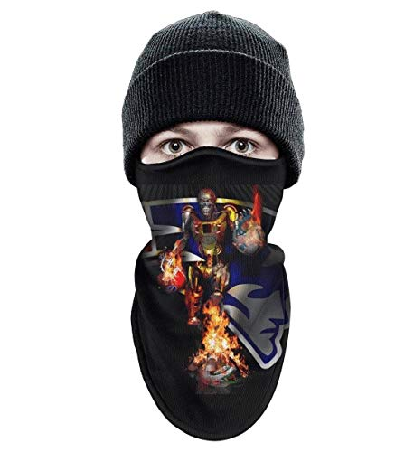 (POLKIS Unisex Face Mask for Mens Womens Anti-dust Snowboarding Sports Balaclava)