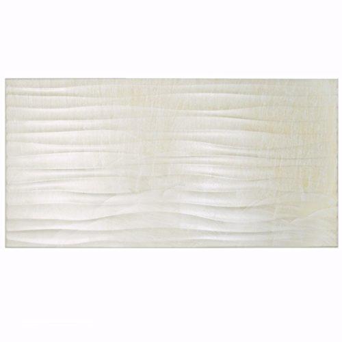 - SomerTile WGFDECDP Sharah Deco Porcelain Wall Tile, 12.5
