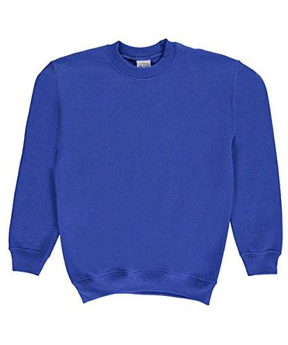 Gildan Unisex Crew Neck Sweatshirt - royal, (Gildan Kids Sweatshirt)