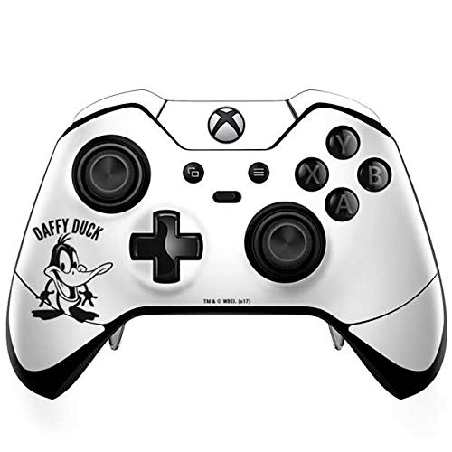 Skinit Daffy Duck Big Head Xbox One Elite Controller Skin - Officially Licensed Warner Bros Gaming Decal - Ultra Thin, Lightweight Vinyl Decal Protection