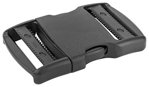 50-1 1/2 inch YKK Flat Dual Adjustable Side Release Plastic Buckles by YKK