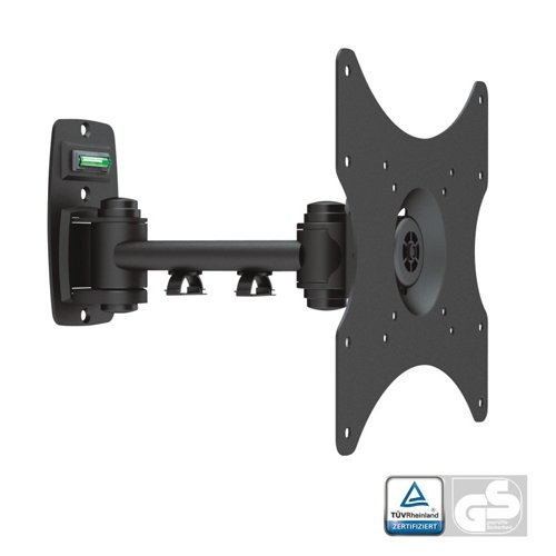 EZ Mounts - Full Motion Tilt Swivel Articulating TV Wall Mount Bracket With Removable Face Plate for EZ