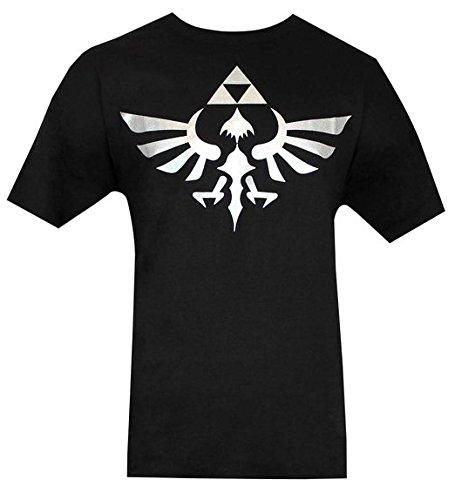 Nintendo Legend of Zelda Skyward Sword Silver Triforce Logo XXL T-shirt