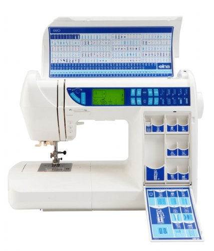 Elna EXperience 40 Sewing Machine Amazoncouk Kitchen Home Beauteous Elna 660 Sewing Machine