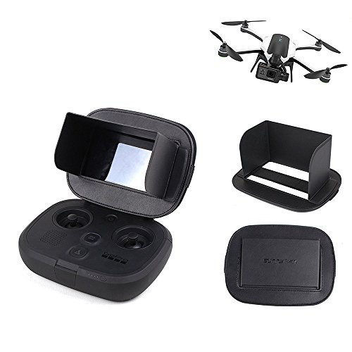 Drone Fans Foldable Monitor Sun Hood Screen Sunshade for GOPRO KARMA Drone Remote Controller