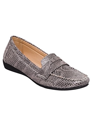 AmeriMark Womens Adult Gianna Casual Flat Synthetic Snake mgyNsw