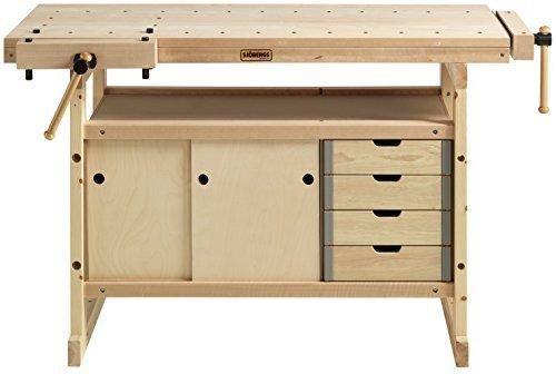 SJO-33281 Hobby Plus Birch Workbench ()