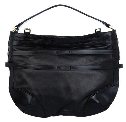 Burberry , Sac pour femme à porter à l'épaule Noir Noir 30 x 39 x 15