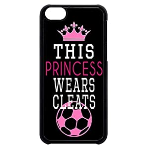 FavorPlus This Princess Wears Cleats Soccer Girl Apple Iphone Custom Case iphone 6/6s plus 5.5 inch Durable Snap on