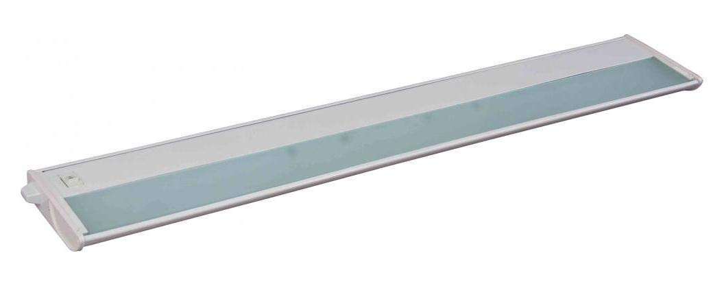 Four Light White Undercabinet Strip (Min-6)