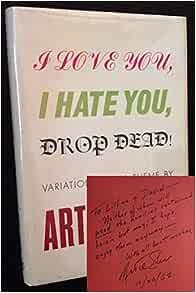 I love you i hate you book