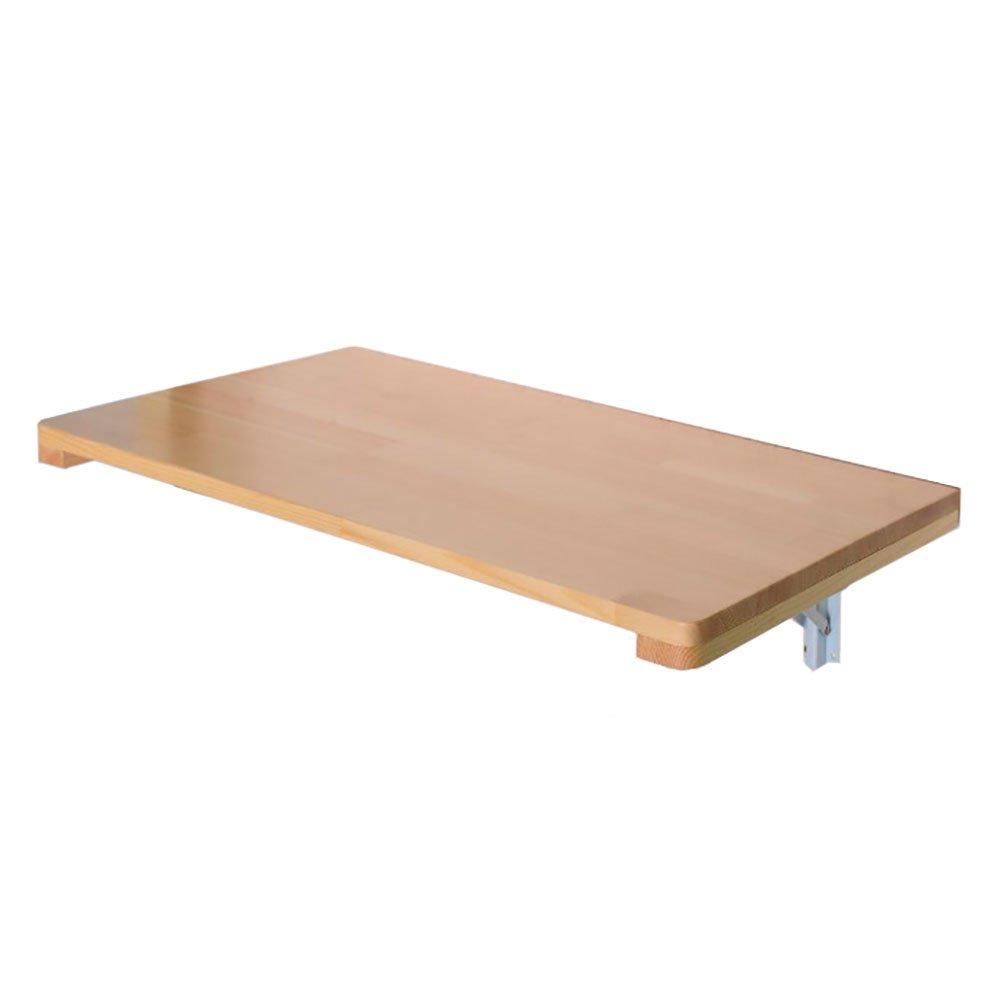 Mejor precio Barato Mesa Mesa Mesa plegable de pared LXF Mesas de Pared Material de Madera de Pino Mesa de Comedor Colgante Plegable Salón Balcón (Tamaño : 60  40cm)  tienda