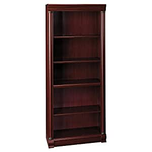 Birmingham 5 Shelf Bookcase In Harvest Cherry Kitchen Dining