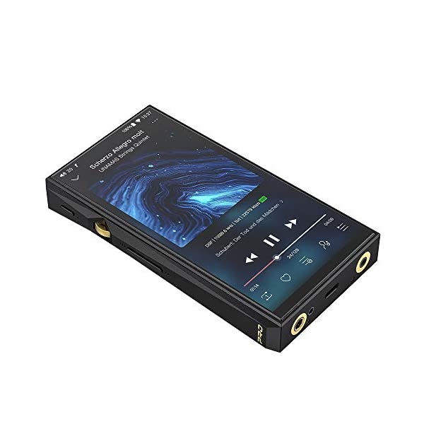 Hi-Res Lossless MP3 Music Player with Dual AK4497, THX AAA amp, MQA, aptX/atpX HD/LDAC/Bluetooth/DSD/Tidal/Spotify/5G WiFi/4.4 Balance Output, Full Touch Screen 6
