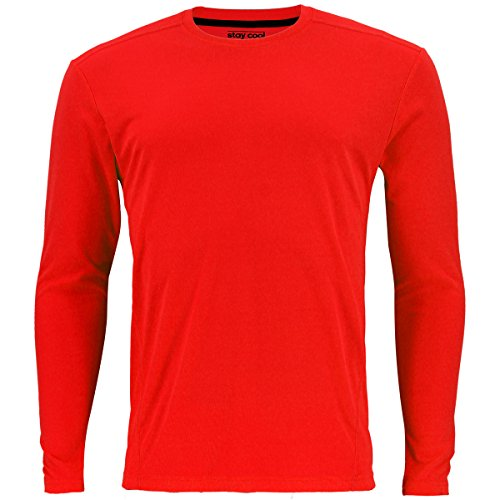 adidas Men's Baselayer Climacool UPF Long-Sleeve Crew Top
