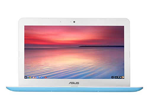 ASUS Chromebook C300SA 13.3 Inch (Intel Celeron, 4GB, 32GB eMMC, Light Blue)