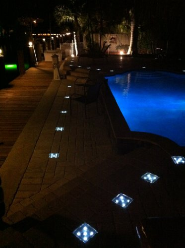 Driveway Block Brick Led Lights