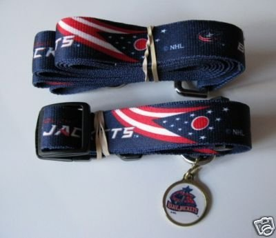 Hunter Columbus Blue Jackets Pet Combo (Includes Collar, Lead, ID Tag), X-Small