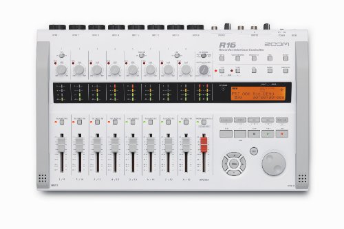 Zoom R16 Multitrack SD Recorder Controller and Interface with 8GB SD Card and 8 AA Batteries (Zoom R16 Recorder)