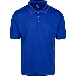 Mens Royal Blue Drifit Polo Shirt Large