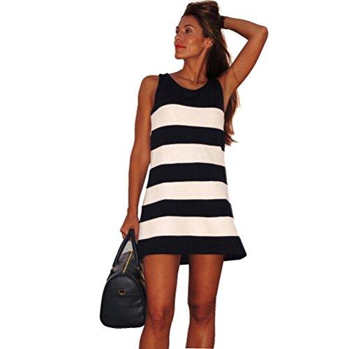 Sunward Women Stripe Sleeveless Short product image