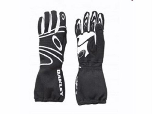 Oakley 2010 SFI/FIA CarbonX Racing Gloves Small Black -94106-001-SM