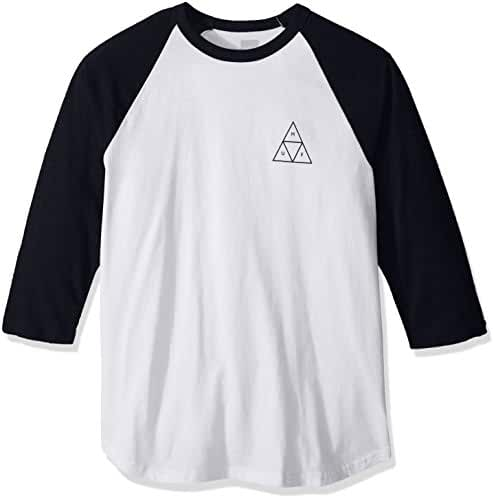 HUF Men's Triple Triangle Raglan