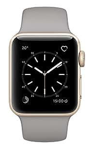 Apple Watch Series 2 38mm Smartwatch (Gold Aluminum Case, Concrete Sport Band)