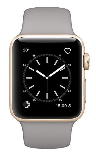 Apple Watch Series 2 38Mm Smartwatch  Gold Aluminum Case  Concrete Sport Band