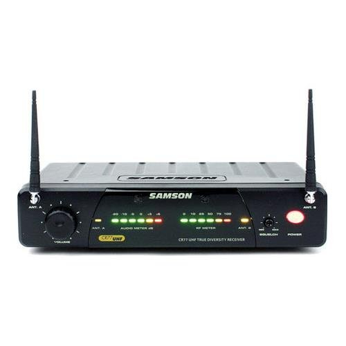 Samson Concert 77 CR77 Wireless Receiver (Only) - Channel N3-644.125 - 77 Headset Wireless System Uhf