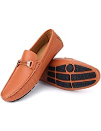 Mio Marino Mens Loafers - Italian Dress Casual Loafers for Men - Slip-on Driving Shoes - in Gift Shoe Bag