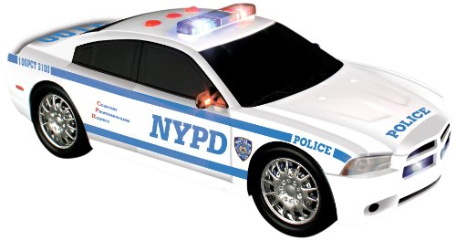 Daron NYPD Motorized Dodge Charger (Motorized Vehicle)