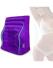 Waterproof Inflatable S&éx Sofa Pillow Cushion Multi-Functional Furniture,S&éx Sofa Postioning Sofa Magic Aid Cushion for Deeper Penatration (Purple)