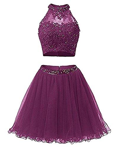 Damen Violett Beauty Leader Kleid of the twvz6xqHS