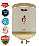 ACTIVA 10 L Instant 3 KVA 5 Star Rated Special Anti Rust Coated Tank Geyser with ABS TOP Bottom, HD ISI Element (Ivory)