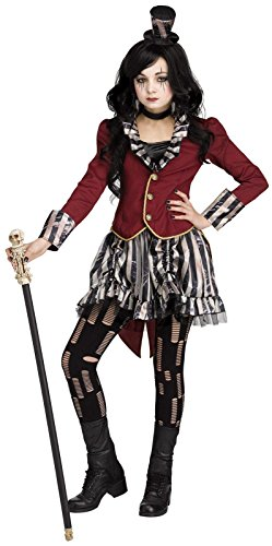 Freak Show Circus Ringmistress Kids (Circus Costume)