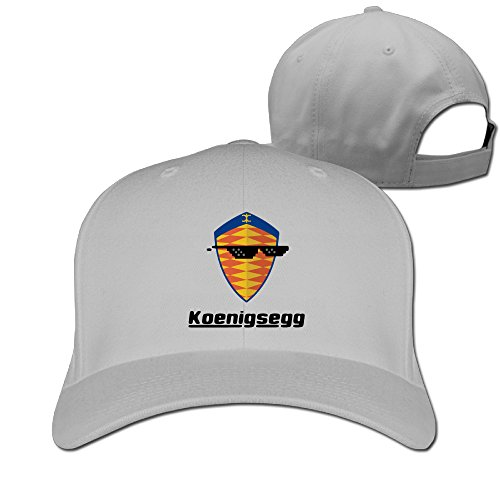 Logon 8 Fashion Sunglass With Koenigsegg Car Logo Cap Hat One Size Ash You - Reeves Keanu Sunglasses