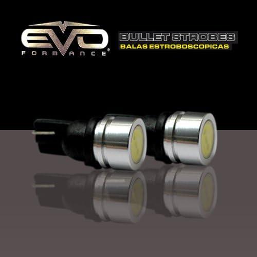 Pack of 2 CIPA 93186 Ultra White 1 Watt Powerful Bullet LED 194 Strobe Bulb