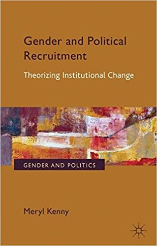 Gender and Political Recruitment: Theorizing Institutional