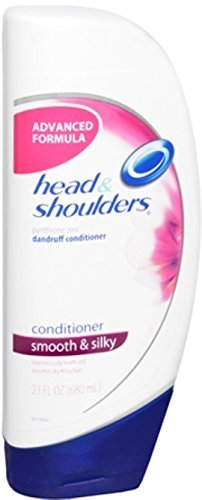 Head & Shoulders Smooth and Silky Dandruff Conditioner 23 oz (Pack of 3)