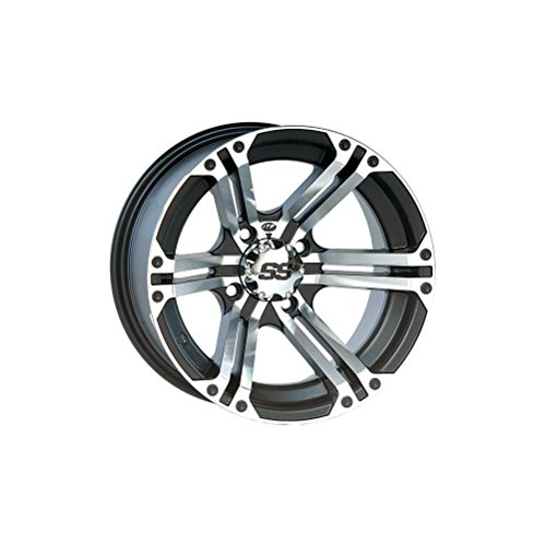 "ITP SS ALLOY SS212 Black Wheel with Machined Finish (14x8""/4x137mm)"
