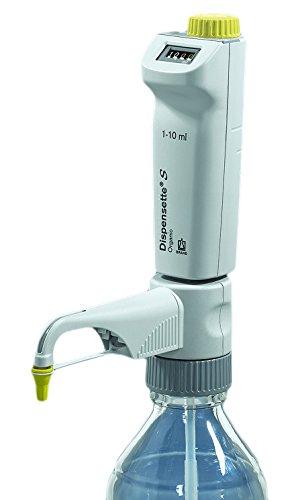 BrandTech 4630361 Dispensette S Organic, Digital with Recirculation Valve, 5 mL - 50 mL