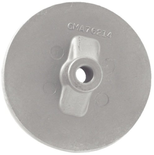 Outboard Anode (Martyr Anodes CM76214A Mercury Outboard Skeg Anode, Aluminum)