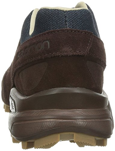 Salomon Speedcross Canvas Shoes Bitter Choc LTR Deep Blue Sand low cost online clearance buy cheapest price for sale cheap sale affordable outlet looking for 1wmLEWU