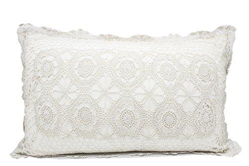 Fennco Styles Handmade Crochet Lace Cotton Tablecloth (20
