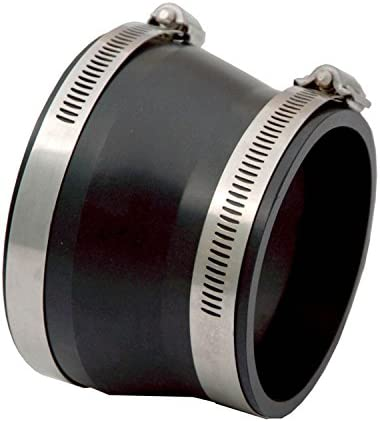 "4/"" w// 3-1//2/"" Reducer Black 9741 Spectre Intake Coupler"