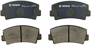 B1800 Rotary Pickup B1600 RX-7 618 Bosch BP76 QuietCast Premium Semi-Metallic Disc Brake Pad Set For Select Ford Courier; Mazda 616 RX-2 More; Front RX-4 B2000