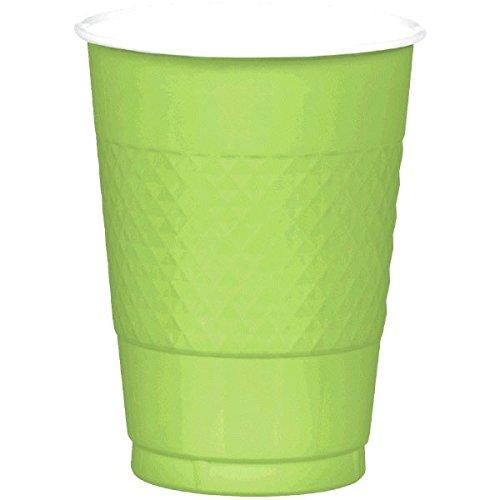 Amscan Kiwi Green Plastic Cups, 16 Oz., 20 Ct.