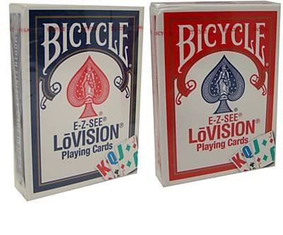 Bicycle Lo-Vision Special Playing Cards - 2 Decks