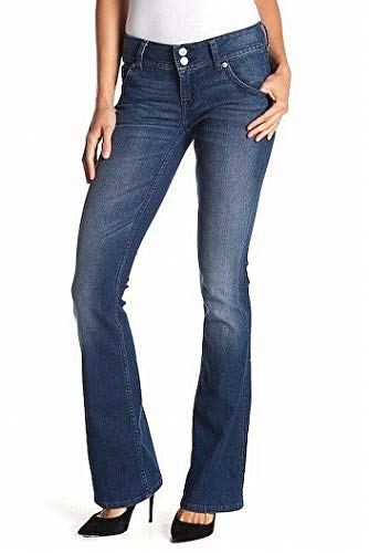 HUDSON Bloom Womens Signature Bootcut Stretch Jeans Blue 26